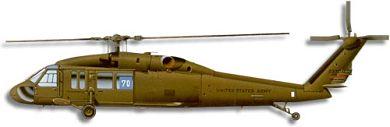 Profil couleur du Sikorsky UH-60/MH-60 Blackhawk