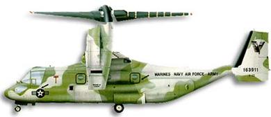 Profil couleur du Bell-Boeing V-22 Osprey