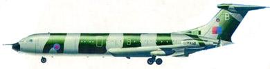 Profil couleur du Vickers VC-10