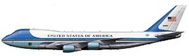 Profil couleur du Boeing VC-25