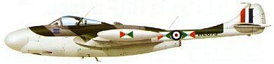 Profil couleur du De Havilland D.H.112 Venom