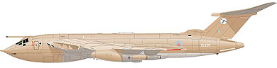 Profil couleur du Handley Page HP.80 Victor