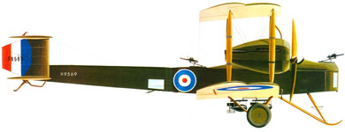 Profil couleur du Vickers F.B.27 Vimy