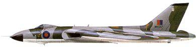 Profil couleur du Avro  Vulcan