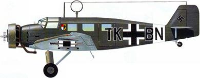 Profil couleur du Junkers W 33 & W 34