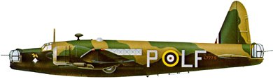 Profil couleur du Vickers  Wellington