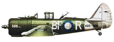 Profil couleur du Commonwealth CA-1/CA-16 Wirraway
