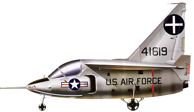 Profil couleur du Ryan X-13 Vertijet
