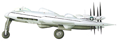 Profil couleur du Northrop XB-35/YB-35