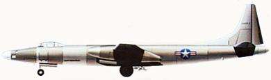 Profil couleur du Convair XB-46