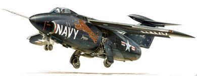 Profil couleur du Grumman XF10F Jaguar