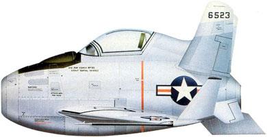 Profil couleur du McDonnell XF-85 Goblin