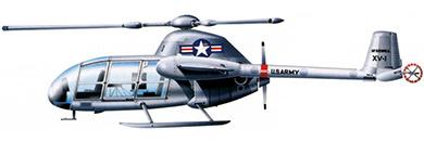 Profil couleur du McDonnell XV-1