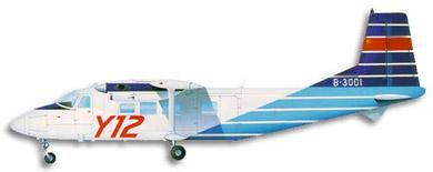 Profil couleur du Harbin Y-12