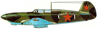 Profil couleur du Yakovlev Yak-1/Yak-7
