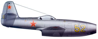 Profil couleur du Yakovlev Yak-23 'Flora'