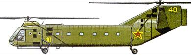 Profil couleur du Yakovlev Yak-24 'Horse'