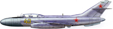 Profil couleur du Yakovlev Yak-25  'Flashlight'
