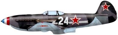 Profil couleur du Yakovlev Yak-3
