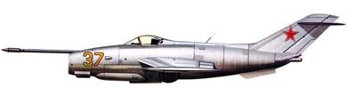 Profil couleur du Yakovlev Yak-36 'Freehand'