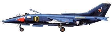 Profil couleur du Yakovlev Yak-38  'Forger'