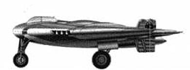 Profil couleur du Northrop YB-49 / YRB-49
