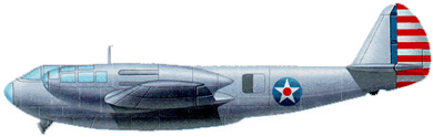 Profil couleur du Bell YFM-1 Airacuda