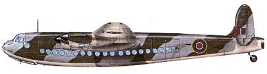 Profil couleur du Avro  York