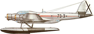 Profil couleur du CRDA – CANT Z-506 Airone