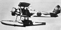 Miniature du Nakajima E8N  'Dave'