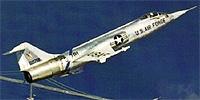 Miniature du Lockheed F-104 Starfighter