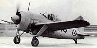 Miniature du Brewster F2A Buffalo