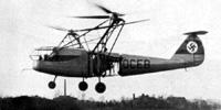 Miniature du Focke-Achgelis Fa 223 Drache