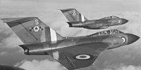 Miniature du Gloster  Javelin