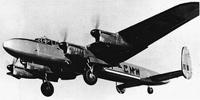 Miniature du Avro Lancastrian