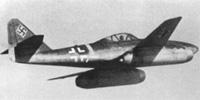 Miniature du Messerschmitt Me 262 Schwalbe
