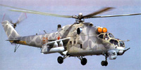Miniature du Mil Mi-24  'Hind'