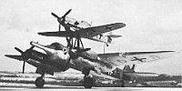 Miniature du Junkers  Mistel