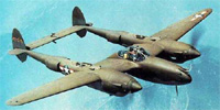 Miniature du Lockheed P-38 Lightning