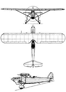 Plan 3 vues du ANF Les Mureaux 115 / 117