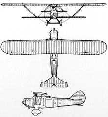 Plan 3 vues du Breguet Br.19