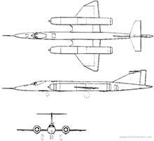 Plan 3 vues du Bristol Type-188