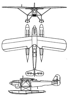 Plan 3 vues du Dornier Do 22