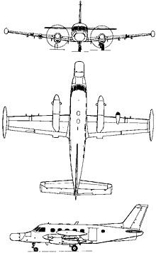 Plan 3 vues du Embraer  EMB 111/P-95 Bandeirulha