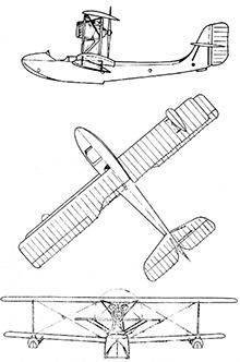 Plan 3 vues du Schreck FBA-17