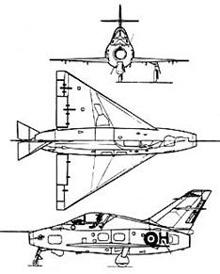 Plan 3 vues du Nord N.1402 Gerfaut