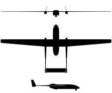 Plan 3 vues du I.A.I.  Heron