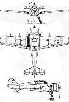 Plan 3 vues du FFVS J22