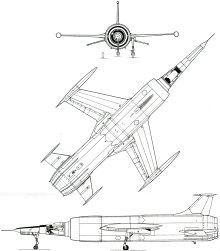 Plan 3 vues du Leduc 0.22