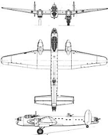 Plan 3 vues du Avro  Manchester